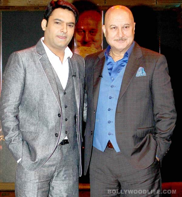 Kapil Sharma to be the first guest on Anupam Kher's new show!
