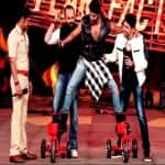 Khatron Ke Khiladi 5 finale: Karanvir Bohra apes Ajay Devgn's bike stunt on stage – watch video!
