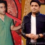 Kapil Sharma meets Krushna Abhishek on 'Entertainment Ke Liye..' set