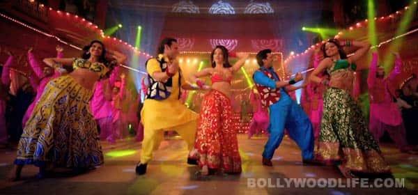 Humshakals song Piya ke bazaar mein: Himesh Reshammiya's voice spoils Bipasha Basu and Tamannaah Bhatia's sexy number