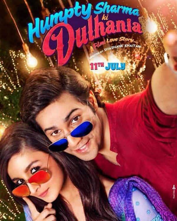 Humpty Sharma Ki Dulhaniya poster: Alia Bhatt and Varun Dhawan in selfie mode – View pic!