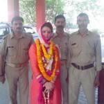 Is Preity Zinta cheering for Narendra Modi in Varanasi?