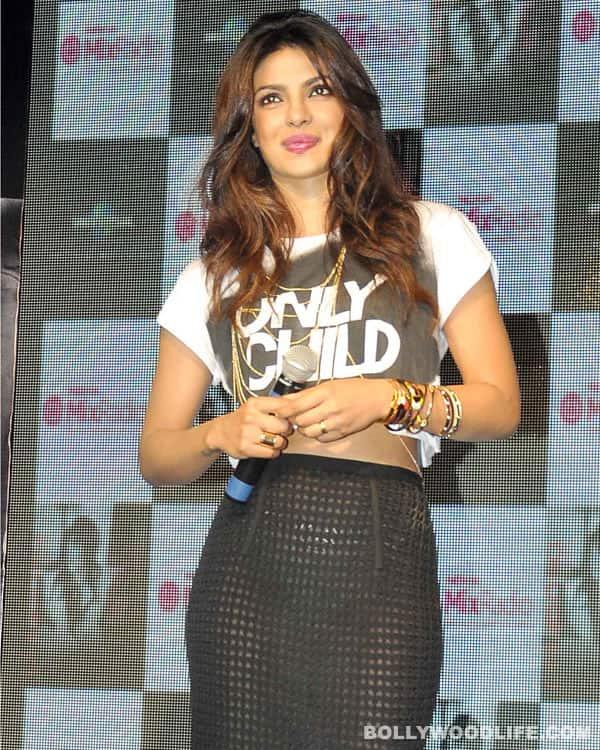 Naughty Priyanka Chopra's sexy act on stage – View pics!