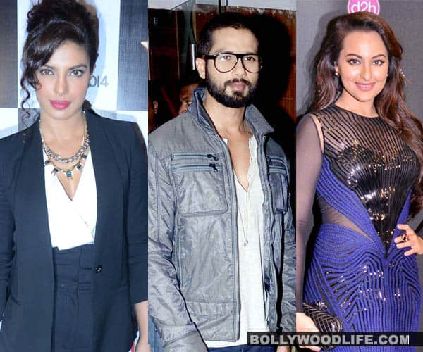 Has Sonakshi Sinha officially replaced Priyanka Chopra in Shahid Kapoor's life?