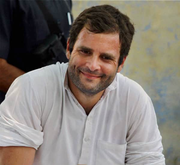Lok Sabha Elections 2014 results: Why was Rahul Gandhi smiling after Congress' defeat?
