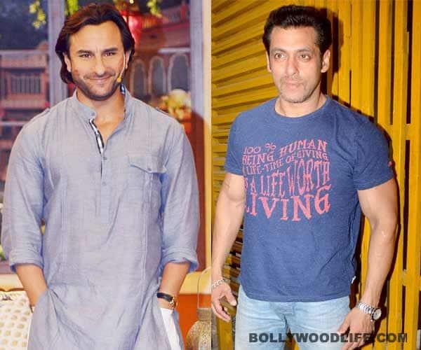 Saif Ali Khan aping Salman Khan and AkshayKumar?
