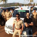 Did a security guard on the sets of Ajay Devgn's Singham 2 slap a fan?
