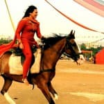 Sonakshi Sinha finds a new ride on the sets of Tevar - View pic!