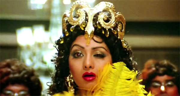 Sridevi wants to steal secret from whose chest?