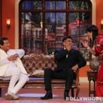 Comedy Nights with Kapil: Suniel Shetty gives Buaji a kiss – View pics!