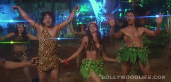 Kuku Mathur Ki Jhand Ho Gayi song Tarzan making: Siddharth Gupta, Ashish Juneja and Simran Kaur Mundi go wild while shooting this cheesy song