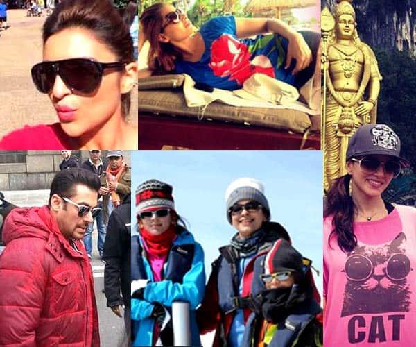 Salman Khan, Deepika Padukone, Parineeti Chopra, Sunny Leone: B-town stars visit hot-spots to cool down!
