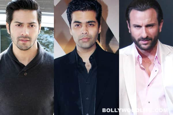 Varun Dhawan and Saif Ali Khan come together for Karan Johar's next flick