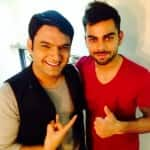 Comedy Nights with Kapil: Kapil Sharma shoots with Virat Kohli - View pic!