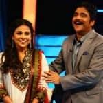 What was Vidya Balan doing on the sets of Nagarjuna's Meelo Evaru Koteeswarudu?