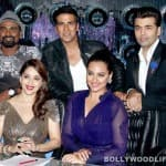 Akshay Kumar and Sonakshi Sinha promote Holiday on Jhalak Dikhhla Jaa 7