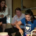 Why did Ameesha Patel cry on her birthday?
