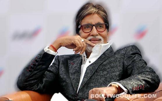Amitabh Bachchan celebrates an oddritual!
