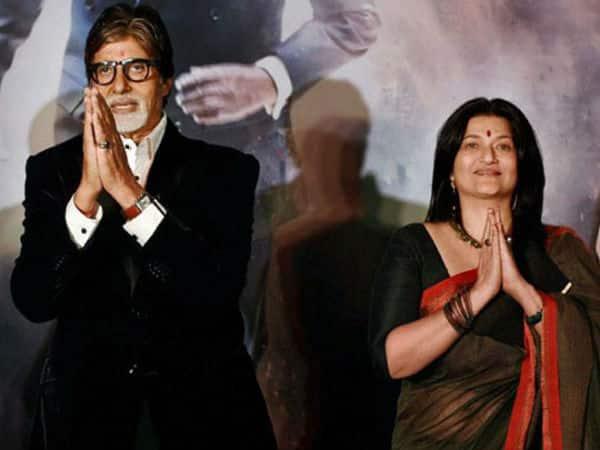 Amitabh Bachchan plays a prank on Sarika