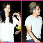 Spotted: Anushka Sharma and Anil Kapoor back from Barcelona- View pics!