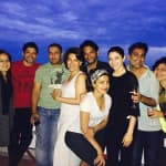 Spotted: Anushka Sharma cruising with the Dil Dhadakne Do team!