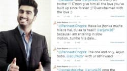 Arjun Kapoor gets a grand welcome on Twitter!
