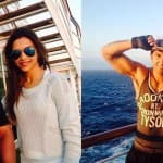 Caught on camera: Deepika Padukone and Ranveer Singh on the sets of Dil Dhadakne Do!