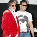 Amitabh Bachchan had a boy's night out with Abhishek Bachchan on his marriage anniversary