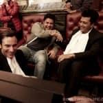 Saif Ali Khan, Riteish Deshmukh and Sajid Khan indulge at a Gujarati feast