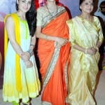Gauri Pradhan with Radhika Madan and Sarita Joshi at the launch of Meri Aashiqui Tumse Hi