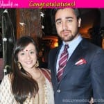Imran Khan and Avantika proud parents to a baby girl!