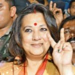 Moon Moon Sen exuberant at having so many women for company in the Lok Sabha
