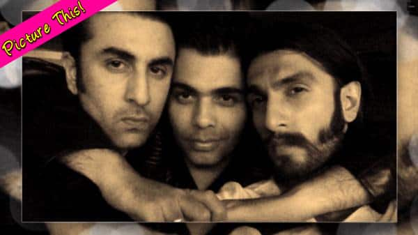 Framed: Rivals Ranbir Kapoor and Ranveer Singh captured bonding!