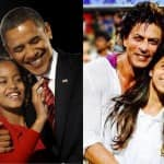 Barack Obama and Shah Rukh Khan the most admired dads?