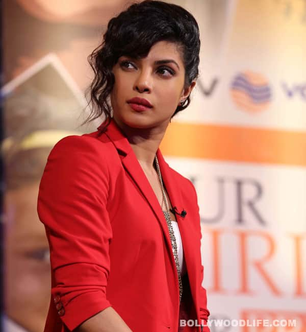 Priyanka Chopra gets angry!