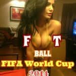 Poonam Pandey bitten by FIFA World Cup fever? View pics!