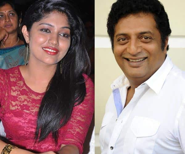 Samyukta finds herself lucky to have worked with Prakash Raj