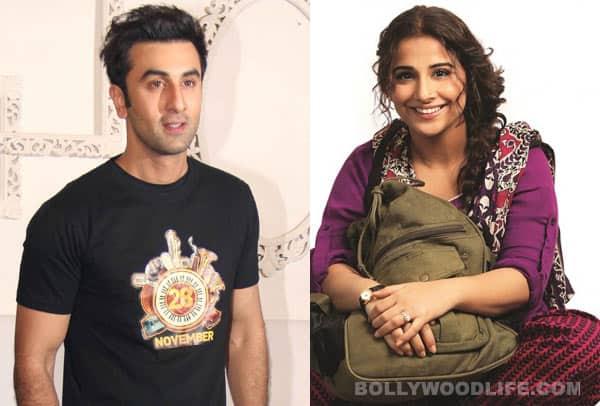 After Alia Bhatt, Ranbir Kapoor helps Vidya Balan forpromotions