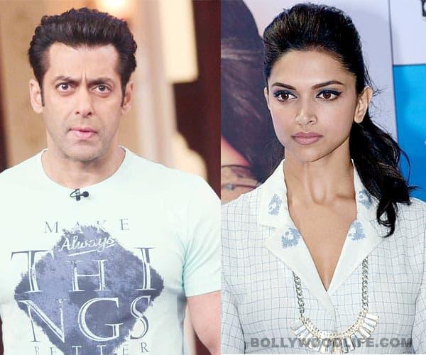 Salman Khan angry with Deepika Padukone?