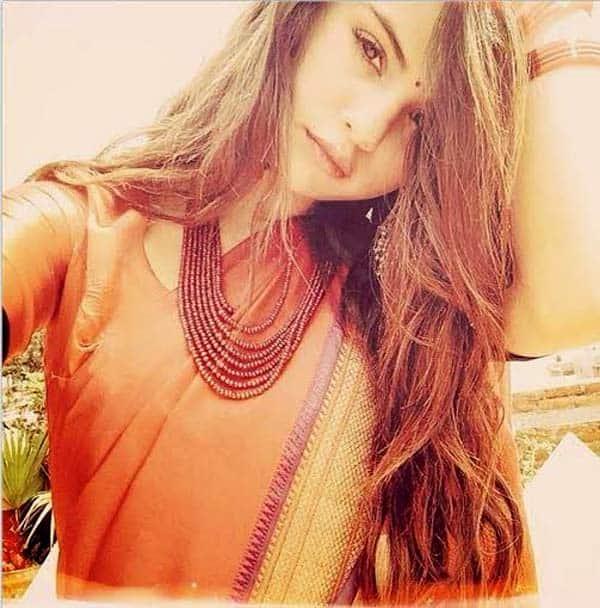 Selena Gomez rocks a sari!