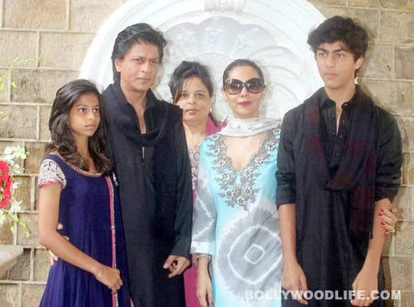 Do Shah Rukh Khan's kids have his habits?