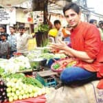 Health freak Sidharth Malhotra doesn't know his vegetables