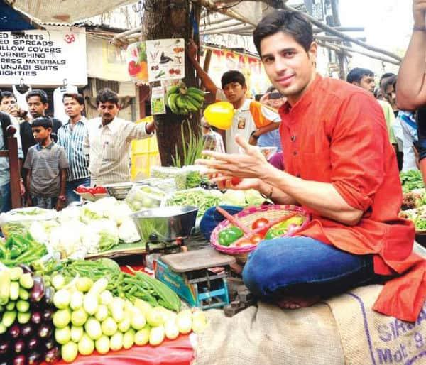 Health freak Sidharth Malhotra doesn't know hisvegetables