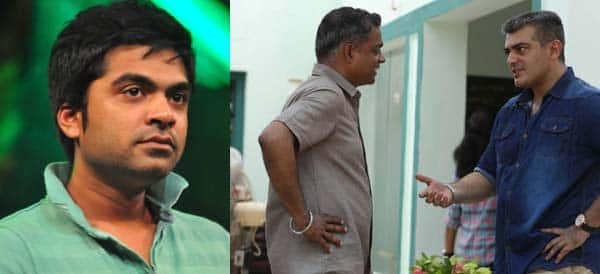 Simbu disappoints with Gautham Menon on Ajith55