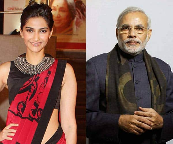 What's common between Sonam Kapoor and Narendra Modi?