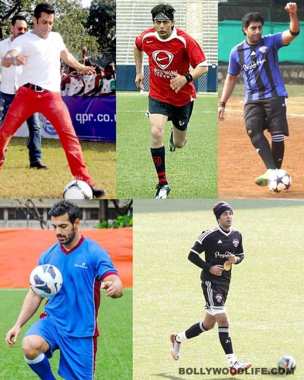 Shah Rukh Khan, Salman Khan and Ranbir Kapoor gripped by FIFA fever!