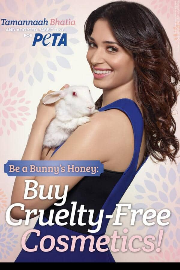 Tamannaah joins PETA to fight animal cruelty