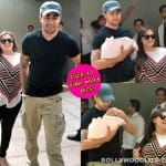 Imran Khan and wife Avantika take home their bundle of joy - view pics!