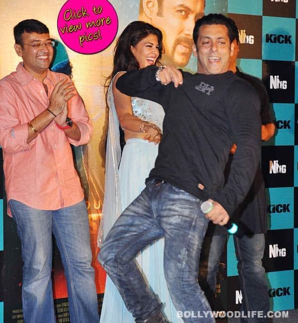 Salman Khan's top 5 antics at Kick promo launch