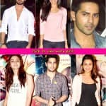 Alia Bhatt, Varun Dhawan, Shahid Kapoor and Parineeti Chopra attend Ek Villain screening- View pics!